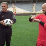 تولد بازی در تمرینات تیم ملی فوتبال ایران با حضور کارلوس کیروش