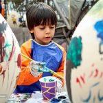 برگزاری جشنواره تخممرغهای رنگی در آستانه نوروز در قزوین