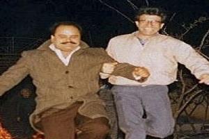 محمدرضا شجریان و اکبر عبدی در جشن چهارشنبه سوری