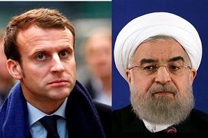 درخواست امانوئل ماکرون رئیس جمهور فرانسه از روحانی
