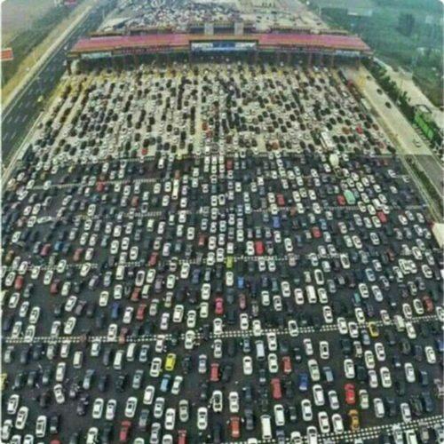 سنگینترین ترافیک دنیا