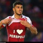 تصویری زیبا از علی علیپور در صفحه اصلی توئیتر AFC