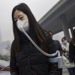 فروش هوای تازه در چین در زمان آلودگی هوا