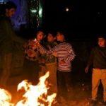 مردم زلزلهزده کرمانشاه چهارشنبه سوری را اینگونه جشن گرفتند!!+تصاویر