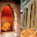 نانوایی بربری و سنگک ۱۲۱ سال پیش در تهران قدیم