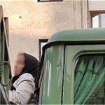 گیر افتادن دختر جوان بین اتاقک و کفی حمل بار کامیون در تهرانسر
