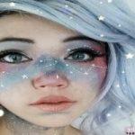 آرایش کهکشانی صورت و گردن آخرین مد جدید دنیای تجملات!