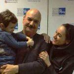 عکس جدید ایرج طهماسب در کنار دامادش