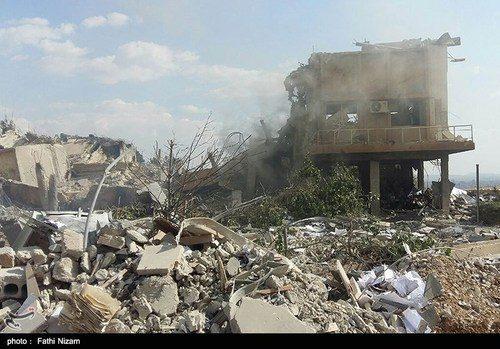 حمله به سوریه توسط آمریکا