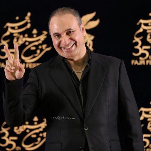 حمید فرخنژاد با لباس محلی