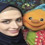 تصویری از نوزاد تازه متولدشده سارا روستاپور (خاله سارا) ، مجری تلویزیون
