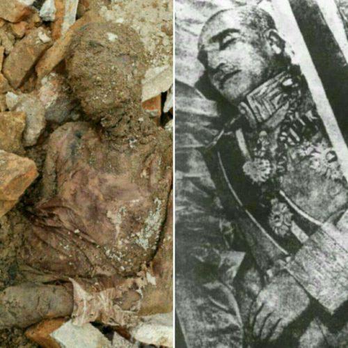 شناسایی جسد مومیایی