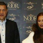 بازدید علی دایی و همسرش از موزه لوور در ایران