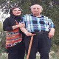 تصویری تلخ از حال نامساعد محسن قاضی مرادی به همراه همسرش