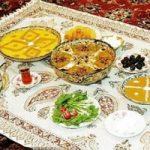 سفره سحری خانواده ایرانی ، نیم قرن پیش !