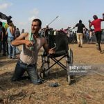 تصاویر تکان دهنده جوان فلسطینی
