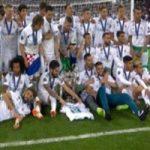 جشن قهرمانی رئال مادرید در لیگ قهرمانان اروپا و شادی فراوان هواداران