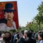 وقیح ترین اقدام در مراسم تشییع ناصر ملک مطیعی را ببینید