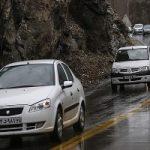اعلام جادههای بارانی و پرترافیک امروز در کشور