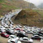 ترافیک سنگین در جادههای شمالی / آخرین وضعیت راه ها
