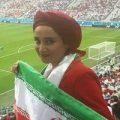 تصاویری از هنرمندان مشهور ایرانی در بازی ایران و مراکش