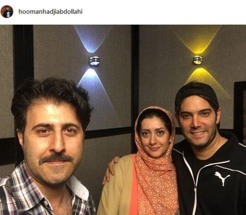 هومن حاج عبداللهی بازیگر