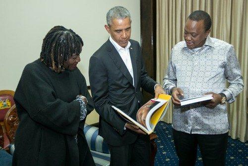 باراک اوباما در کنیا