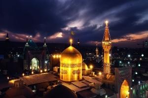 خانمهای بازیگر معروف دیشب در حرم امام رضا (ع)