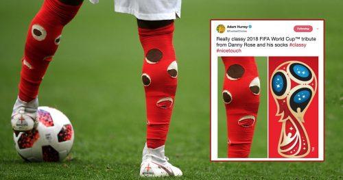 جوراب های سوراخ دنی رز