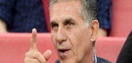 تصمیم کارلوس کیروش درمورد خداحافظی سردار آزمون از تیم ملی