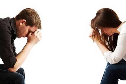 طلاق زن و شوهر