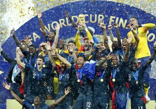 قهرمانی فرانسه در جام جهانی