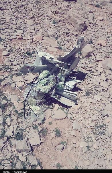 محل سقوط هواپیما یاسوج