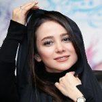 الناز حبیبی بازیگر مشهور هم مدل شد /مدل تبلیغاتی یک سالن زیبایی