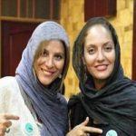 تیپ جنجالی مهناز افشار و سحر دولتشاهی در مراسم اکران «دلم میخواد»