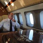 تصاویری خیره کننده از هواپیمای شخصی پوتین