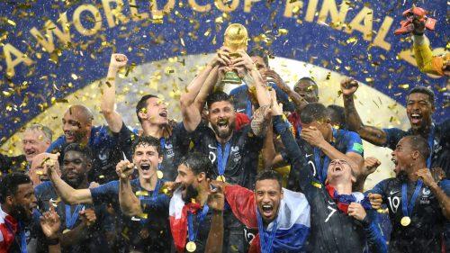 مراسم اهدای جام جهانی