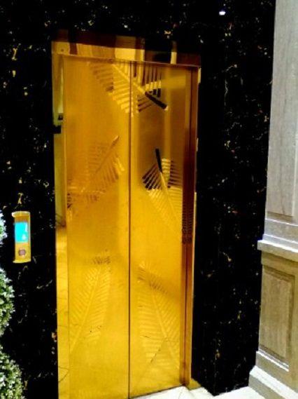 آسانسور طلا
