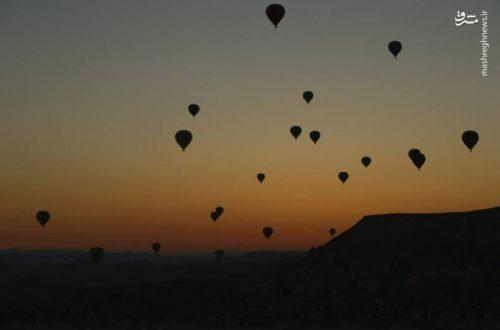 آسمانی برای بالون سوارها