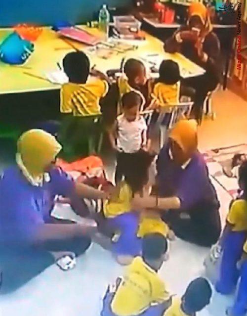 بدرفتاری با کودکان در یک مهدکودک