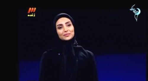 تبلیغ الهام عرب برای عینک دودی