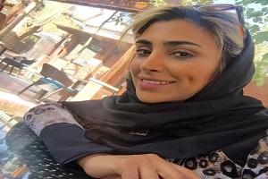 تبلیغ الهام عرب برای عینک دودی در ارمنستان