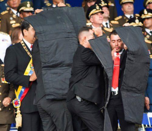 ترور رئیس جمهوری ونزوئلا