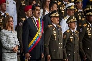 تصاویری عجیب از ترور رئیس جمهوری ونزوئلا