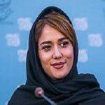 تصویری از تندیس پریناز ایزدیار بازیگر ایرانی