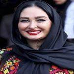 تیپ الهام حمیدی در مراسم جشن حافظ