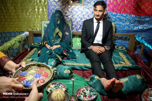 جشن عروس و دامادهای بندری