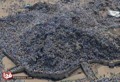 حاجیان در کوه عرفات