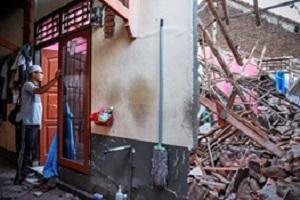 تصاویری از زلزله مهیب در اندونزی