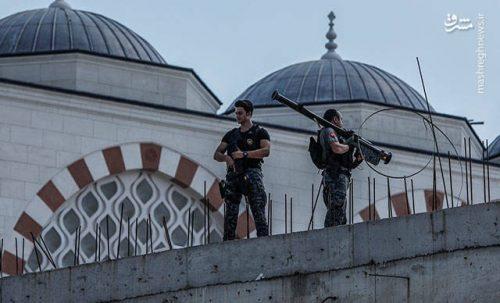 محافظت از اردوغان